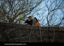 A Couple in Central Park