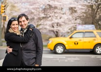 Per and Richa in Central Park